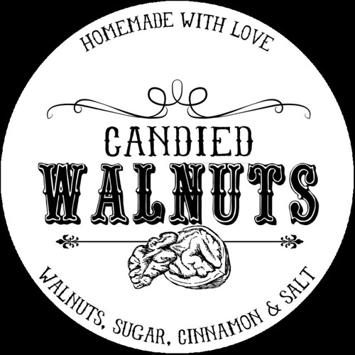 Candied Walnuts Printable