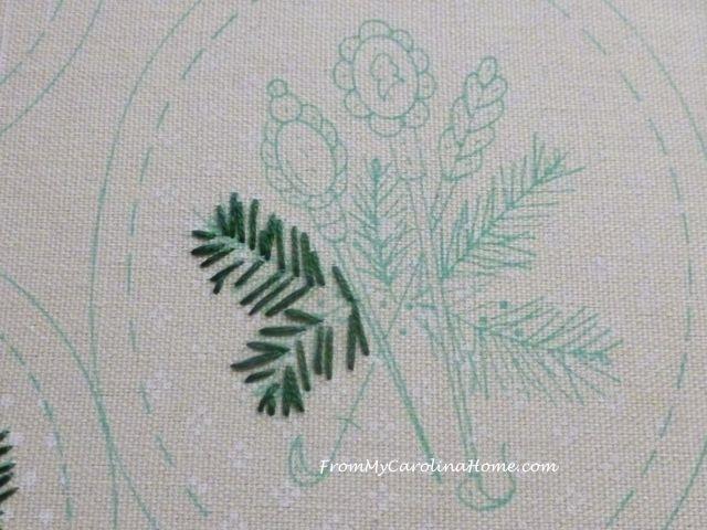 Slow Stitching week 6 - 5