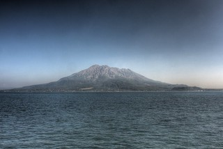 View of Sakurajima in afternoon on OCT 24, 2015 (9)