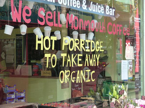 hot porridge