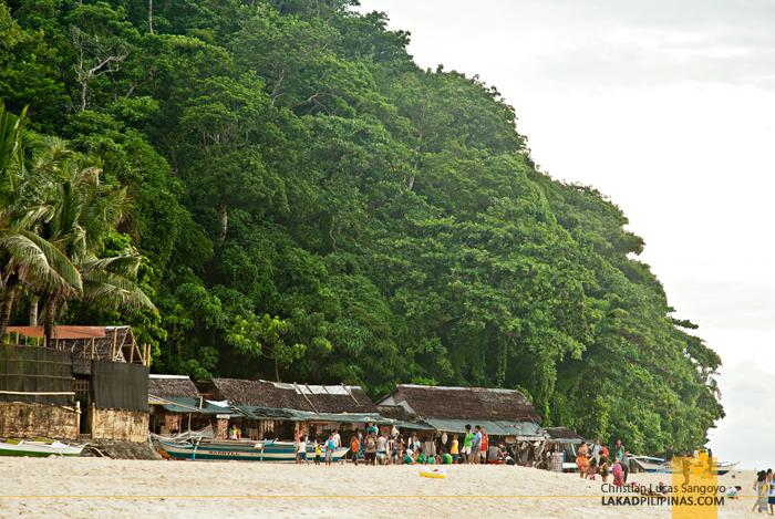 Puka Beach Stores Boracay