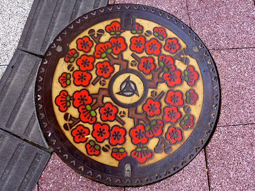 Itoigawa Nigata, manhole cover (新潟県糸魚川市のマンホール)