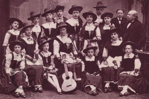 Professor André's Alpine Choir