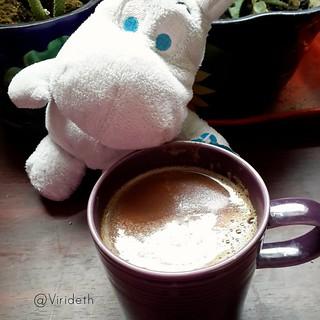 Ni Moomin Pudo resistirse a un chocolate Oaxaqueño