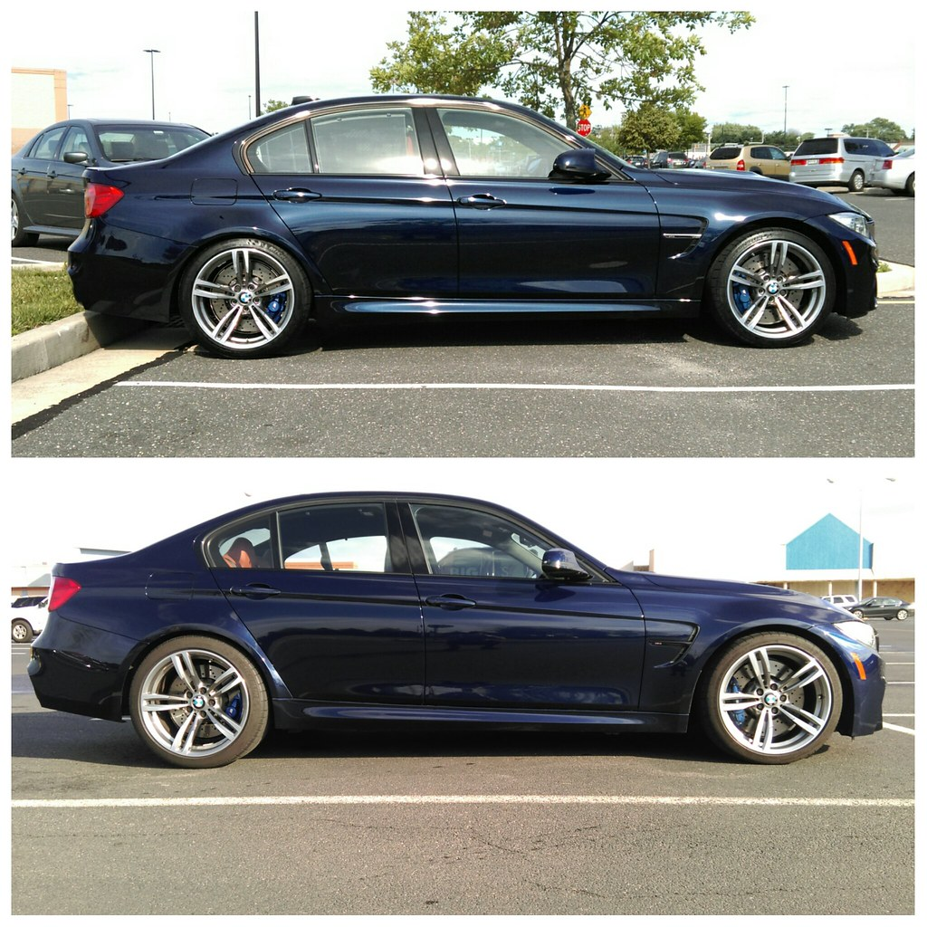 tanzanite blue f80 m3 dropped on eibach pro kit oem. Black Bedroom Furniture Sets. Home Design Ideas