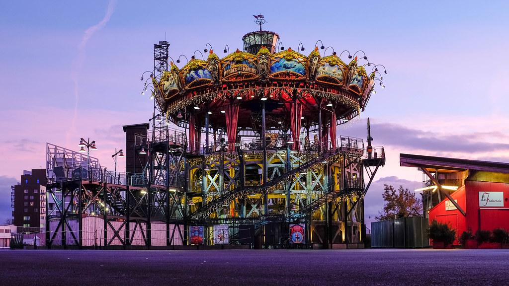 Wonderful france - Le carrousel des mondes marins ...