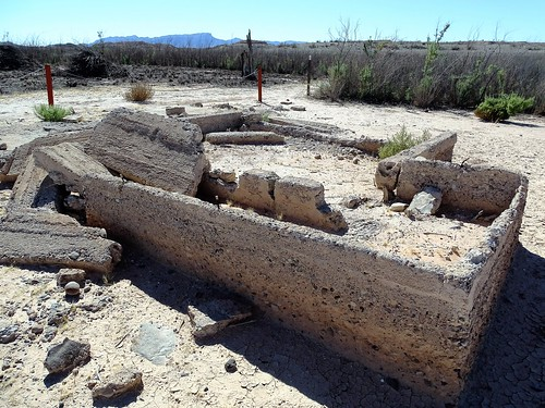 Ruins at St. Thomas in Lake Mead National Recreation Area, Nevada