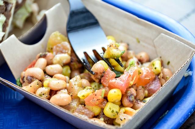 Bean salad Harambe Market AK