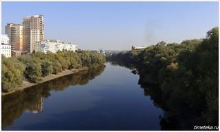 Омск. Река Омь