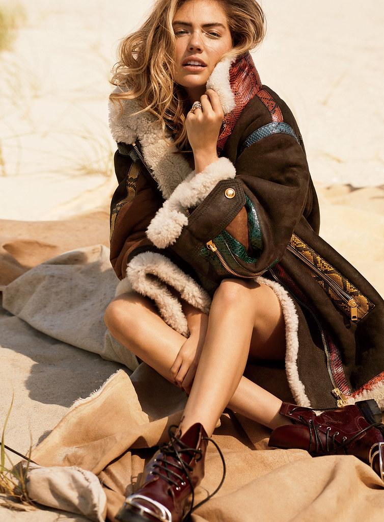 Кейт Аптон — Фотосессия для «Glamour» 2016 – 4