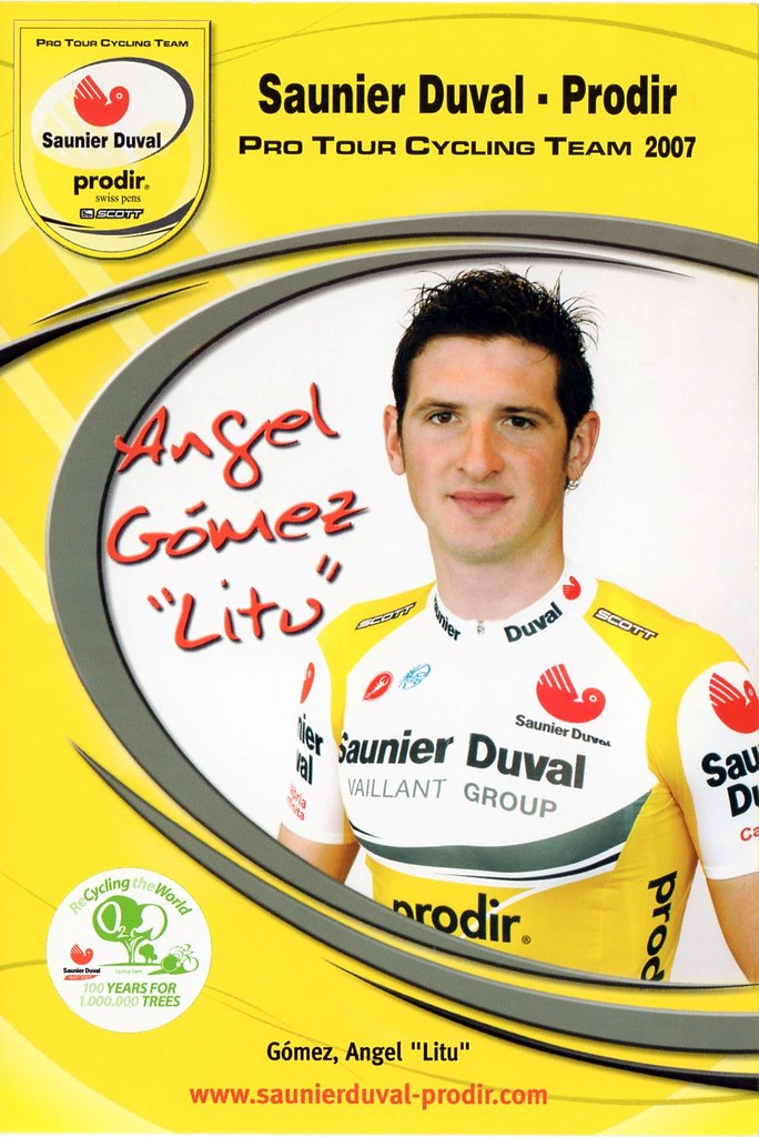 Angel Gomez - Saunier Duval Prodir 2007