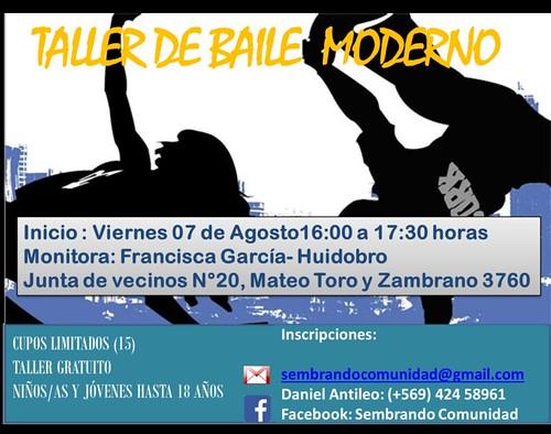 Taller baile moderno
