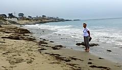 Catherine at Mitchell's Cove beach