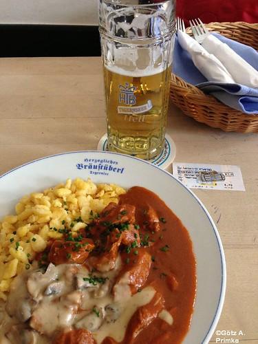 Geniesserlandregion Tegernseer Tal Herzogliches Brauhaus Wanderwege in Bayern  Feb_2013_016