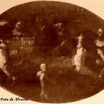 Ariccia Palazzo Chigi ignoti caravaggeschi, gioco, scena di genere del XVII secolo a