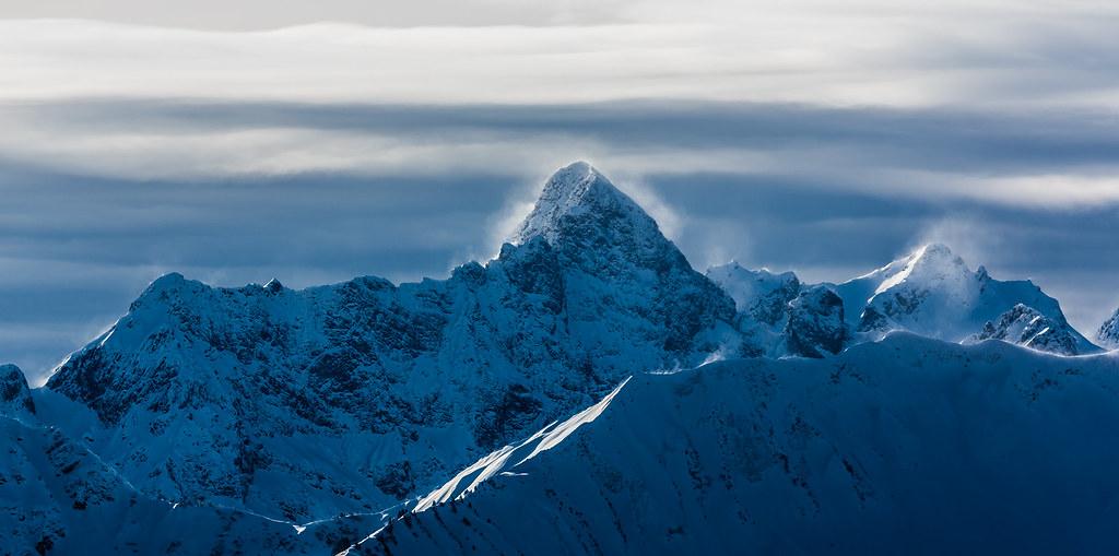 Vorarlberg, Österreich / Austria: Hochkünzelspitze