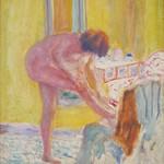 Pierre Bonnard, Nude, Yellow Background, c.1924, Dallas Museum of Art