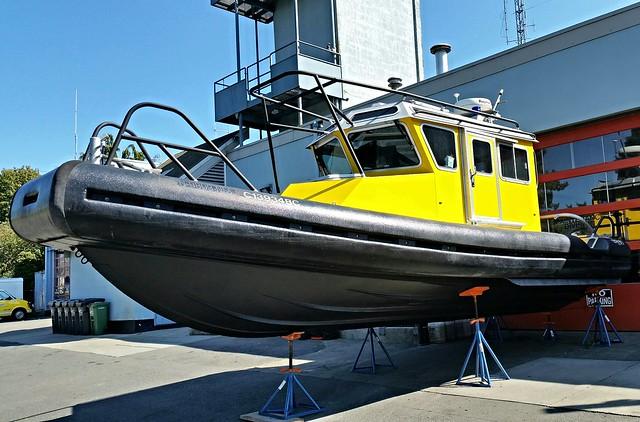 Victoria, BC New Rescue Boat