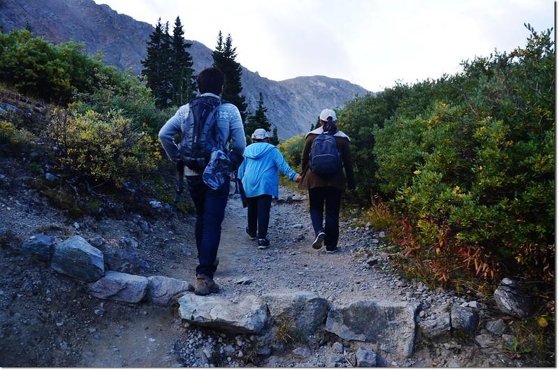 The Grays Peak trail is 1