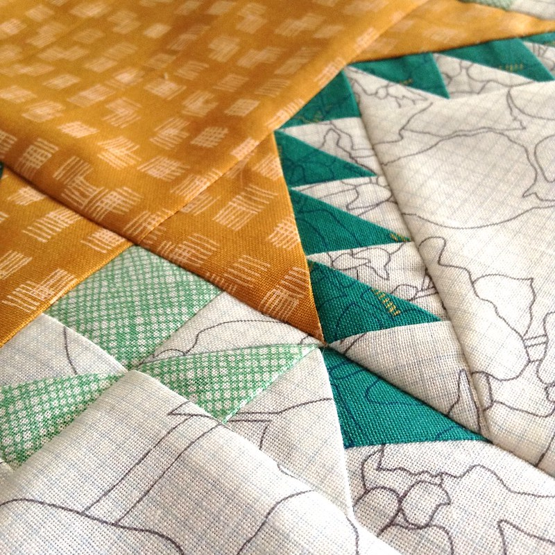 Slow Sewing Project: Morning Star