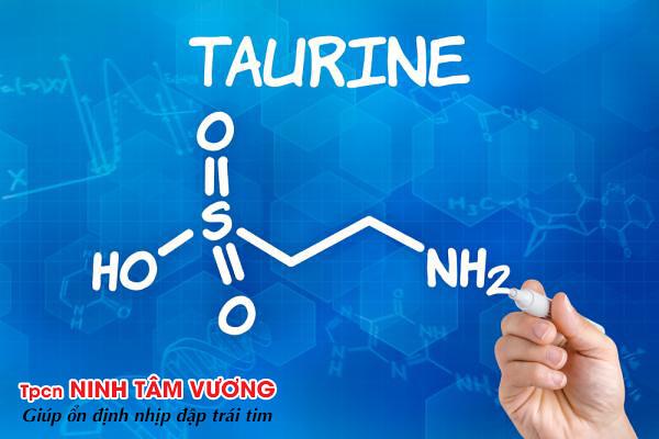 Taurin và chứng rối loạn nhịp tim