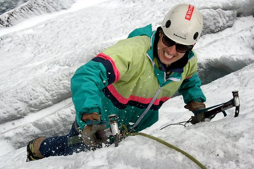 Ice Climbing in Switzerland