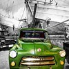 Dodge C-3 was a line of pickup trucks sold by Dodge (Chrysler). C-3 1956 was powered by V8 3800cc with two-speed PowerFlite auto transmission #kings_transports #trucks #colorsplash_of_our_world  #bnw_splash #splash_oftheworld #bws_worldwide #colorsplash_m