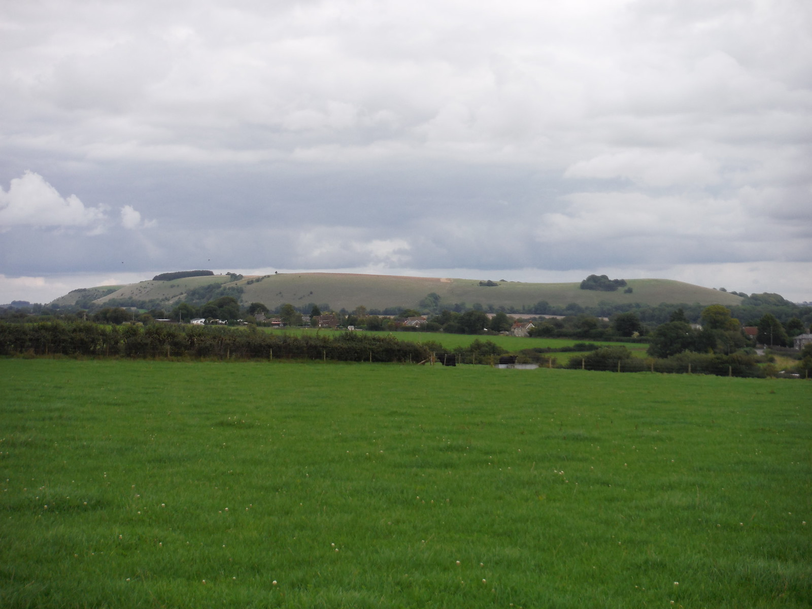 White Sheet Hill from Horse Hill, above Ludwell (II) SWC Walk 251 Tisbury Circular via Ludwell and Berwick St. John
