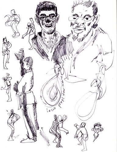 Sketchbook #92: My Life Drawing Class