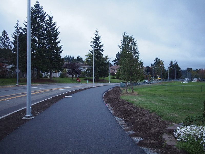 Lakeview Trail: Mountlake Terrace is adding a trail that connects to the Interurban Trail