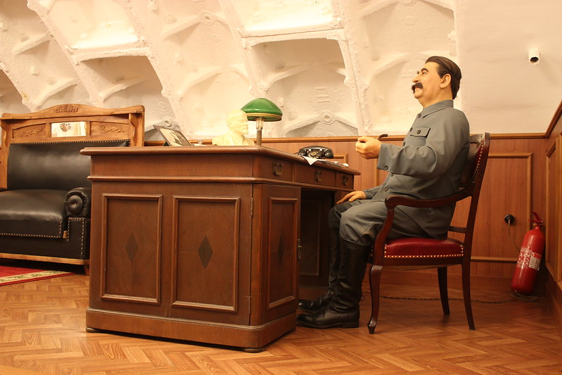 Stalin's Desk Bunker 42