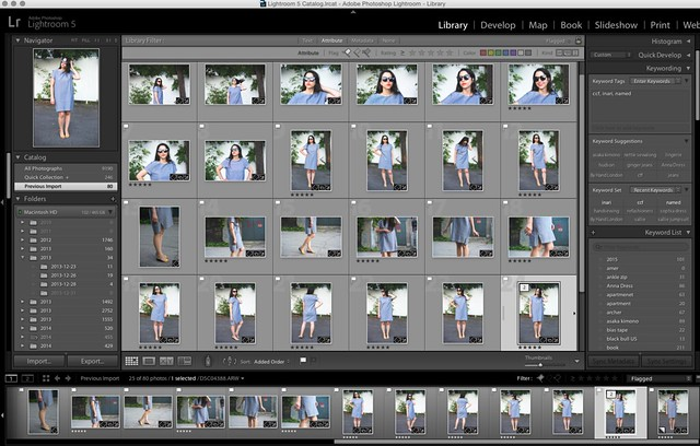 flagging photos for editing