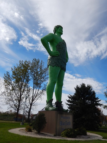 Blue Earth - Jolly Green Giant