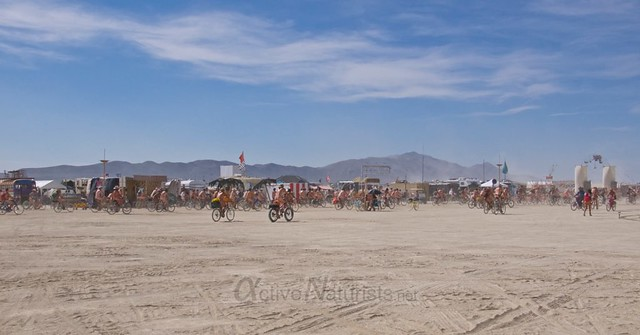 naturist naked pub crawl 0000 Burning Man 2015, Black Rock City, Nevada, USA