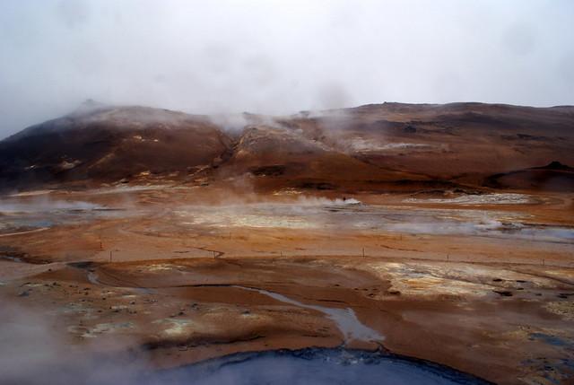 Islandia - Lago Myvatn - Hverir