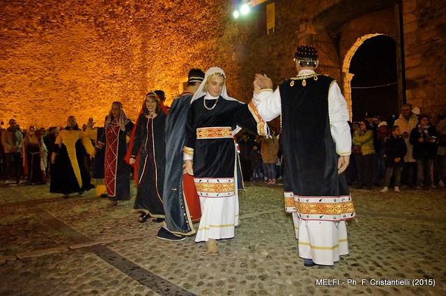 Casamassima- il corteo casamassimese applaudito a Melfi-Visita a Venosa (3)