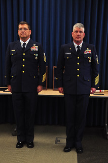 Retirement of two Coast Guard Reservists