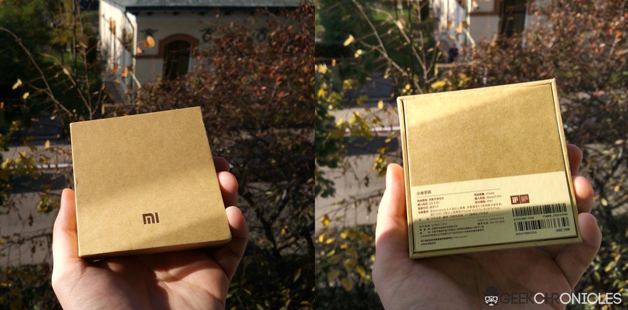 xiaomi miband box