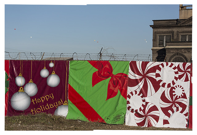 Happy Holidays With Razor Wire