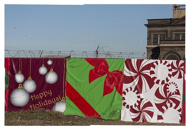 Happy Holidays With Razor Wire