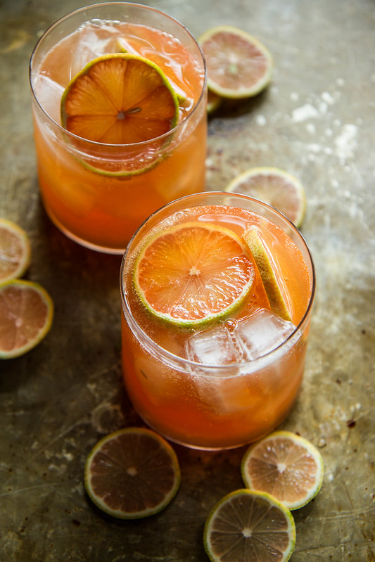 Grapefruit Whisky Sour with 40 other Cocktail and Appetizer Recipes to get your party started!