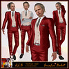 ALB TALIN suit with formal shoes