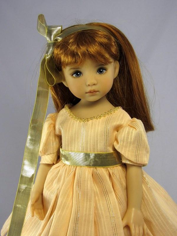 Little Darling in Christmas Dress