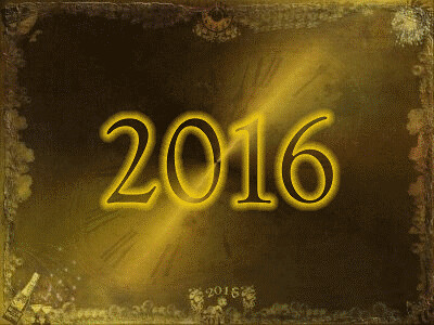 Happy New Year 2016 Animated gif