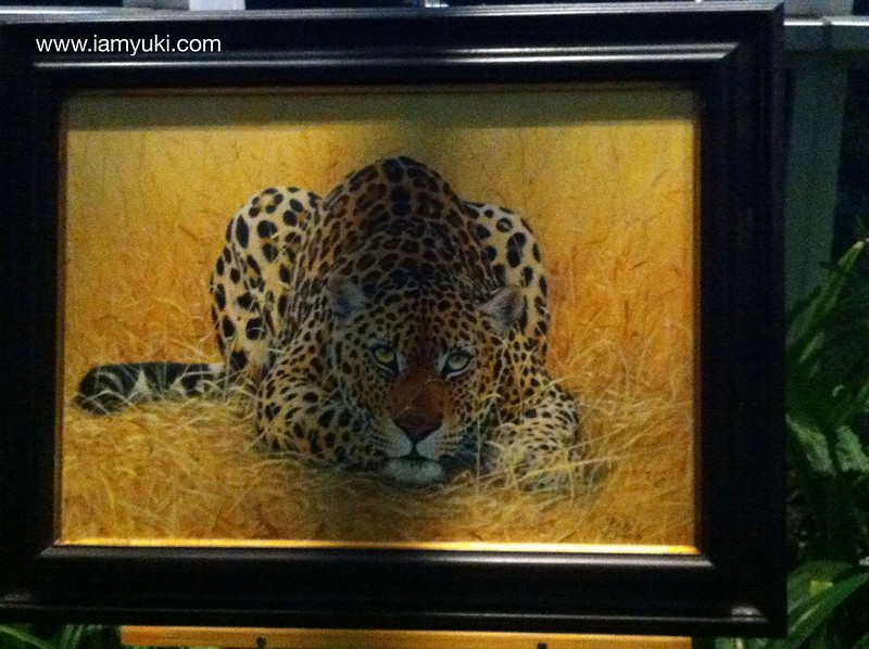 Mandala Wildlife Art Exhibitionleopard 11