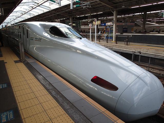 SAKURA N700-8000 JR West Kyushu Shinkansen at Shin-Osaka Station