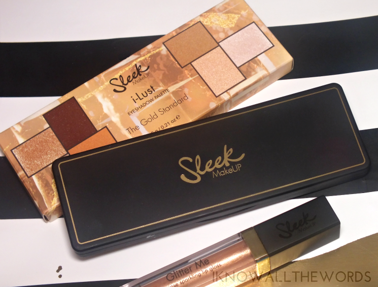 Sleek Makeup 24 K Gold Collection iLust Eyeshadow Palette The Gold Standard (1)