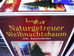Naturgetreuer Weihnachtsbaum