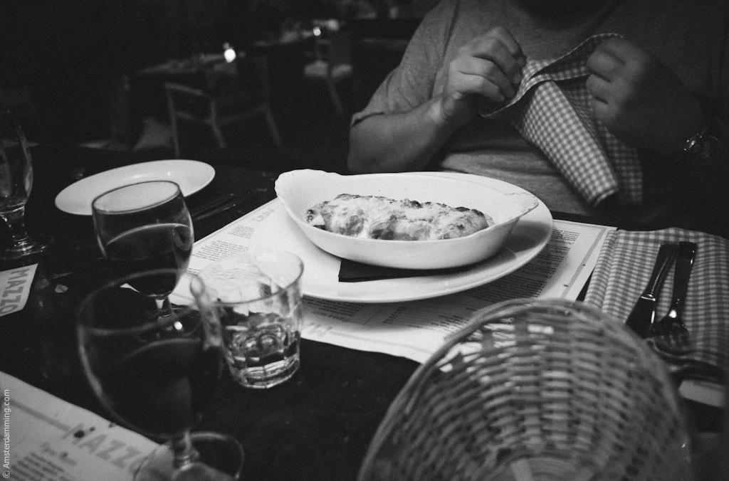 Amsterdam, Italian Dinner at MAZZO