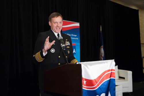 INSA Leadership Dinner with NSA Director Adm. Rogers - 2015